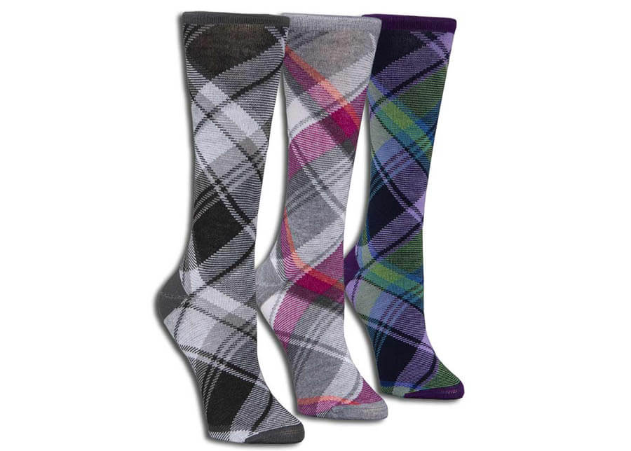 Uptown Plaid Everyday Sock